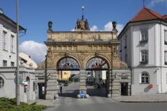 Brewery gate